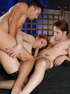 Shemale Group Sex Pics